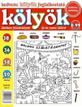 CSOSCH KIADÓ - Kedvenc Kölyök Foglalkoztató 38.