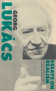 Georg Lukács - Essays On Realism [antikvár]