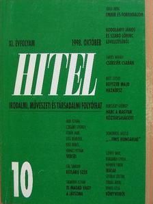 Bella István - Hitel 1998. október [antikvár]