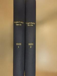 Bélyácz Iván - Közgazdasági Szemle 2002. január-december I-II. [antikvár]