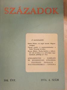 Balogh András - Századok 1974/4. [antikvár]