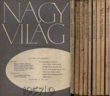 GEREBLYÉS LÁSZLÓ - Nagy Világ 1957. 1.-9. kötet (hiányos évfolyam) [antikvár]