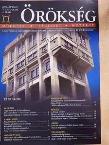 Bóna István - Örökség 2006. április [antikvár]