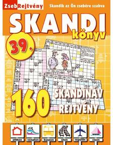 CSOSCH KIADÓ - ZsebRejtvény SKANDI Könyv 39.