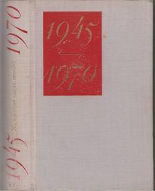 Illés Lajos - 1945-1970 Negyedszázad magyar verseiből [antikvár]