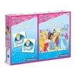 Clementoni Puzzle 60 Disney hercegnők + Memóriajáték