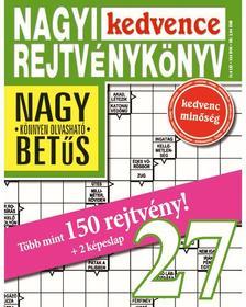 CSOSCH KIADÓ - Nagyi Kedvence Rejtvénykönyv 27.