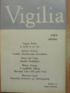 Balássy László - Vigilia 1969. október [antikvár]