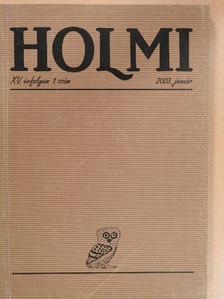 András Edit - Holmi 2003. január [antikvár]