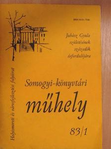 Bálint Sándor - Somogyi-könyvtári műhely 83/1 [antikvár]