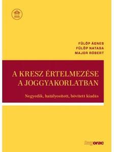 FÜLÖP ÁGNES-FÜLÖP NATASA-MAJOR RÓBERT - A KRESZ értelmezése a joggyakorlatban - Negyedik, hatályosított, bővített kiadás