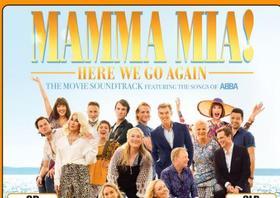 FILMZENE - MAMMA MIA! HERE WE GO AGAIN - CD