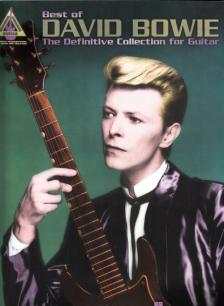 DAVID BOWIE, BEST OF. THE DEVINITIVE COLLECTION FOR GUITAR