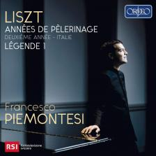 LISZT - ANNÉES PÉLERINAGE CD + DVD ITALIE PIEMONTESI