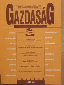 Benet Iván - Gazdaság 1995. ősz [antikvár]