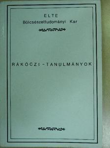 Dömötör Tekla - Rákóczi-tanulmányok [antikvár]