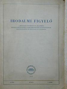 Karátson Endre - Irodalmi Figyelő 1955. június [antikvár]