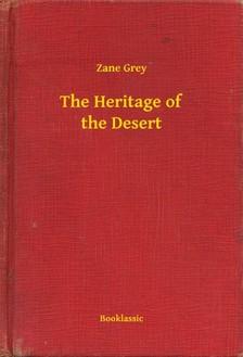 Zane Grey - The Heritage of the Desert [eKönyv: epub, mobi]