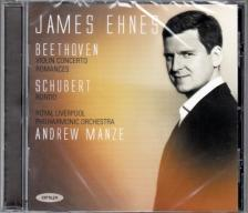 BEETHOVEN-SCHUBERT - VIOLIN CONCERTO - ROMANCES - RONDO CD JAMES EHNES, ANDREW MANZE