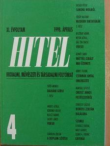 Bella István - Hitel 1998. április [antikvár]