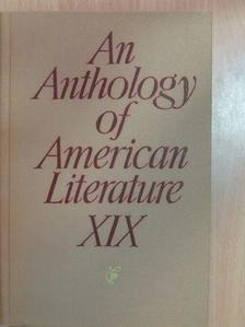 J. F. Cooper - An Anthology of American Literature XIX. [antikvár]