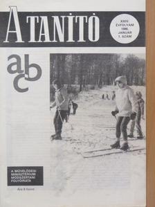 Balogh Viktória - A Tanító 1986. január [antikvár]