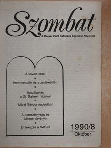 Bihari Tibor - Szombat 1990. október [antikvár]