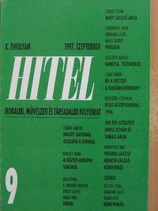 Csoóri Sándor - Hitel 1997. szeptember [antikvár]