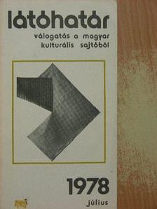 Breuer János - Látóhatár 1978. július [antikvár]