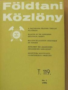 Gidai László - Földtani Közlöny 1989/1. [antikvár]