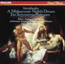 MENDELSSOHN - A MIDSUMMER NIGHT'S DREAM CD MARRINER