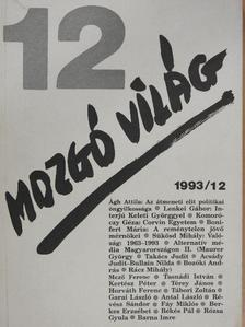 Ágh Attila - Mozgó Világ 1993. december [antikvár]