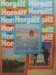 Farkas Csaba - Magyar Horgász 1984. január-december [antikvár]