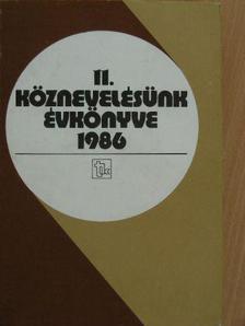 Balogh László - Köznevelésünk évkönyve 1986 [antikvár]