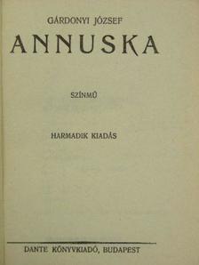 Gárdonyi József - Annuska [antikvár]