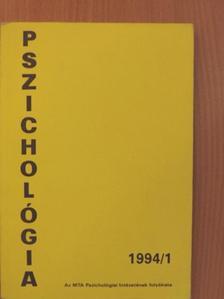 Bakay P. Éva - Pszichológia 1994/1. [antikvár]