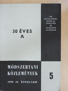 Dobcsányi Ferenc - Módszertani közlemények 1990/5. [antikvár]