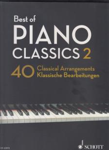 BEST OF PIANO CLASSICS 2. 40 CLASSICAL ARRANGEMENTS