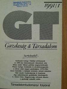 Andor László - Gazdaság & Társadalom 1991. február [antikvár]