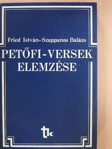 Fried István - Petőfi-versek elemzése [antikvár]
