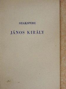 Shakespeare - János király [antikvár]