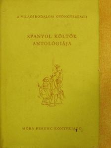 Berczeli A. Károly - Spanyol költők antológiája [antikvár]