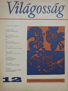 Ádám György - Világosság 1972. december/Melléklet az 1972. decemberi számhoz [antikvár]