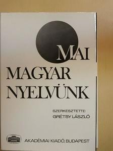 Éder Zoltán - Mai magyar nyelvünk [antikvár]