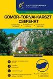 "Cartographia Kiadó - GÖMÖR-TORNAI-KARSZT CSEREHÁT TURISTAKALAUZ 1:40000 ""SC"""