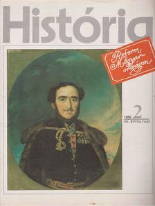 Glatz Ferenc (szerk.) - História 1985/2 [antikvár]
