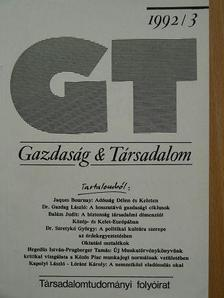 Balázs Judit - Gazdaság & Társadalom 1992. június [antikvár]
