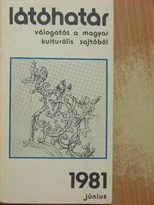 Kocsis István - Látóhatár 1981. június [antikvár]