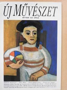 András Edit - Új Művészet 1993. április [antikvár]