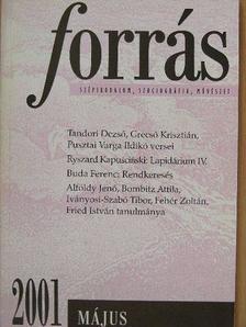 Alföldy Jenő - Forrás 2001. május [antikvár]